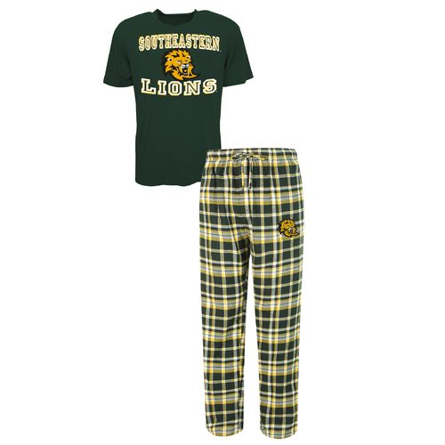 Concepts Sport™ Men's Southeastern Louisiana University Tiebreaker Shirt and Pant Set