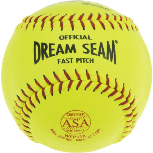 Rawlings Dream Seam 11 in Fast-Pitch Softballs 2-Pack