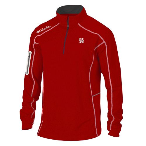 Columbia Sportswear Men's University of Houston Shotgun 1/4 Zip Pullover