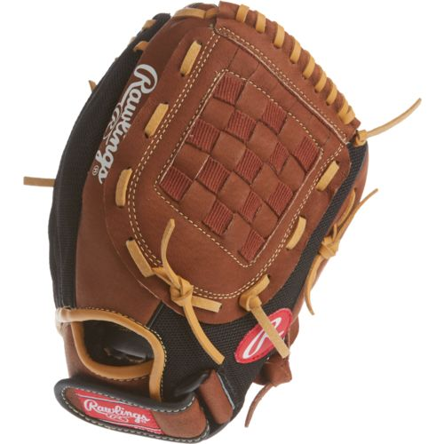 Youth Baseball Glove Leather : Rawlings youth playmaker series in baseball glove academy