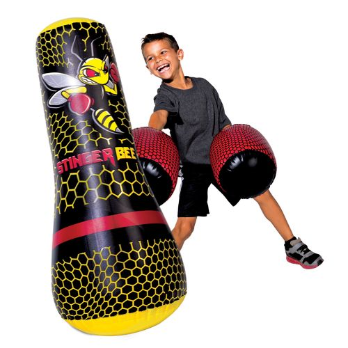 Franklin Stinger Bee Punching Bag and Gloves - view number 3