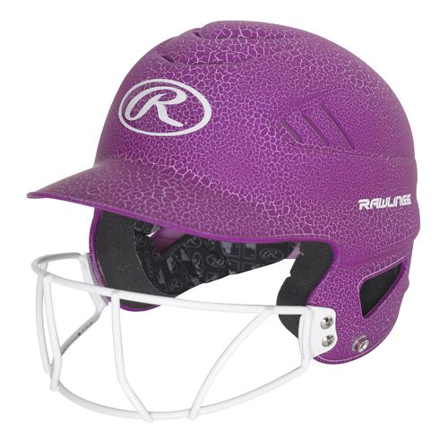 Display product reviews for Rawlings Women's Crackle Softball Helmet with Face Mask