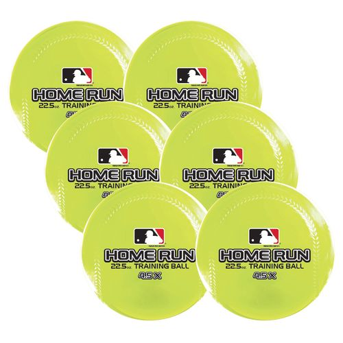 Franklin MLB Home Run 22.5 oz. Training Baseballs 6-Pack - view number 1