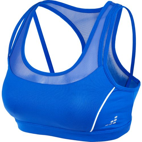 BCG Women's Training Mid-Support Reflective Sports Bra