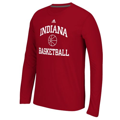 adidas™ Men's Indiana University Basketball Ultimate Long Sleeve T-shirt