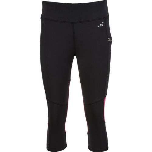 Display product reviews for BCG Women's Run Zipper Pocket Capri Pant