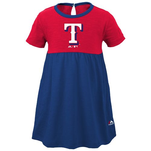 MLB Girls' Texas Rangers 7th Inning Twirl Dress