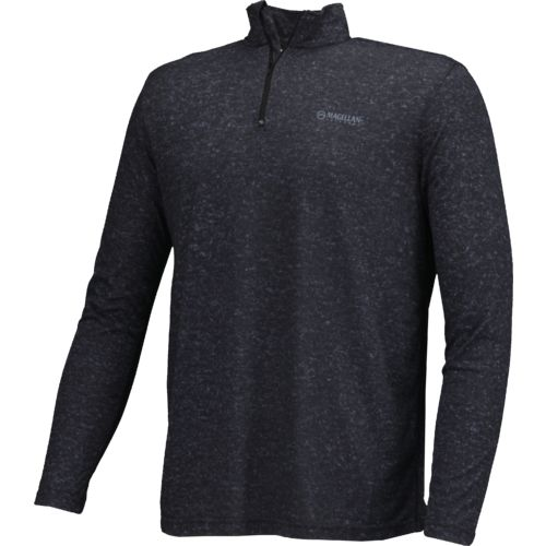 a9f4d90b100 chic Magellan Outdoors Men s PolyHD Long Sleeve 1 4 Zip Pullover ...