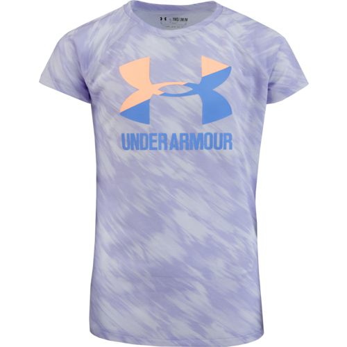 Under Armour Girls' Big Logo Short Sleeve T-shirt