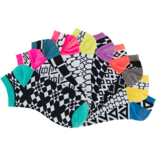 BCG Women's Geo Patterned Fashion Socks 10 Pack - view number 1