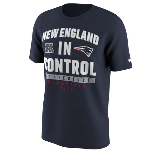 Nike™ Men's New England Patriots AFC Conference Champs 2016 In Control T-shirt