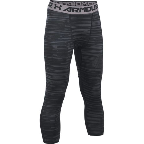 Under Armour Boys' HeatGear Printed 3/4 Length Tight