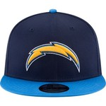 New Era Men's San Diego Chargers 9FIFTY Baycik Snapback Cap - view number 6