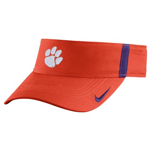 Nike™ Men's Clemson University AeroBill Sideline Visor - view number 1