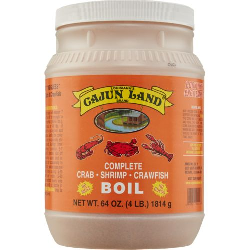 Cajun Land Brand 64 oz Seafood Boil Seasoning