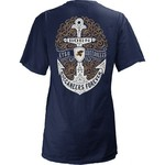 Three Squared Juniors' East Tennessee State University Anchor Flourish V-neck T-shirt - view number 1