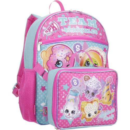 Shopkins Girls' Backpack with Lunch Kit - view number 2