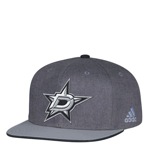 adidas Men's Dallas Stars Travel & Training Snapback Cap