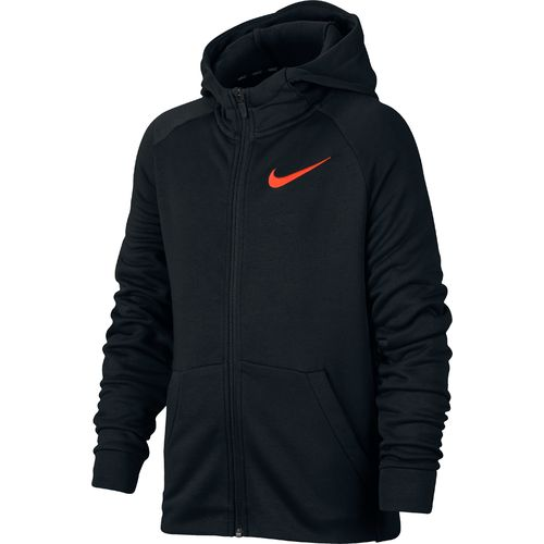 Nike Boys' Dry Fleece Full Zip Training Hoodie
