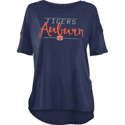 Three Squared Juniors' Auburn University Script T-shirt
