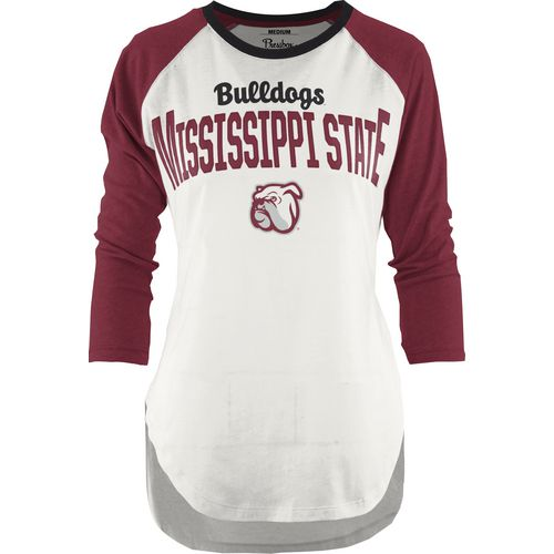 Three Squared Juniors' Mississippi State University Quin T-shirt