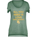 Chicka-d Women's Baylor University Scoop-Neck T-shirt - view number 1