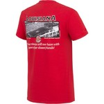 New World Graphics Men's University of Louisiana at Lafayette Friends Stadium T-shirt - view number 2