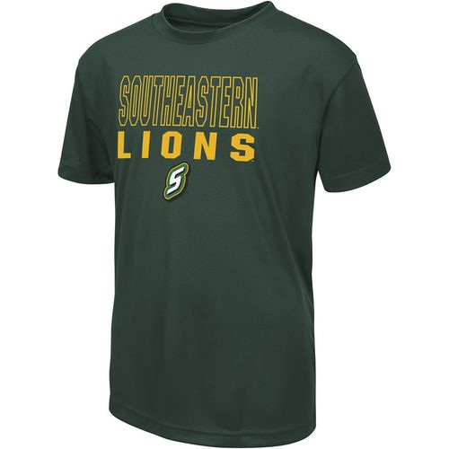 Colosseum Athletics Boys' Southeastern Louisiana University Team Mascot T-shirt