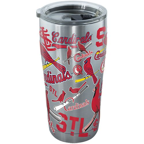 Tervis St. Louis Cardinals 20 oz All Over Stainless-Steel Tumbler