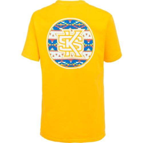New World Graphics Women's Kennesaw State University Logo Aztec T-shirt