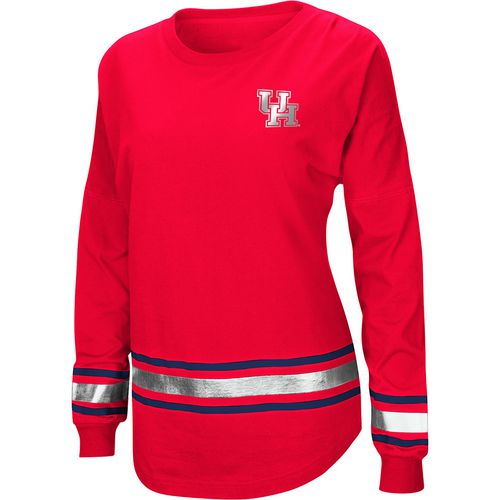 Colosseum Athletics Women's University of Houston Humperdinck Oversize Long Sleeve T-shirt