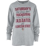 Three Squared Juniors' Florida State University Touchdowns and Tailgates T-shirt - view number 1