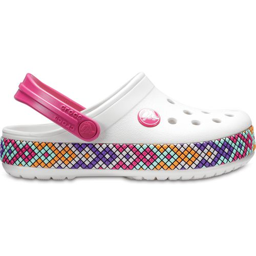 Comfortable For Sale Crocs Crocband Gallery Clog Kids(Children's) -Oyster Quality Free Shipping Low Price Fee Shipping 7ENuz