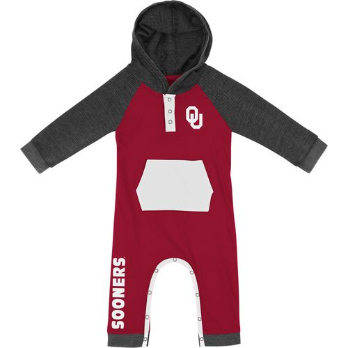 Colosseum Athletics Infant Boys' University of Oklahoma Truffle Ruffle Onesie