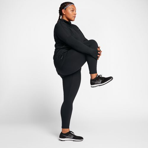 Nike Women's Dry Element 1/2 Zip Plus Size Running Top - view number 9