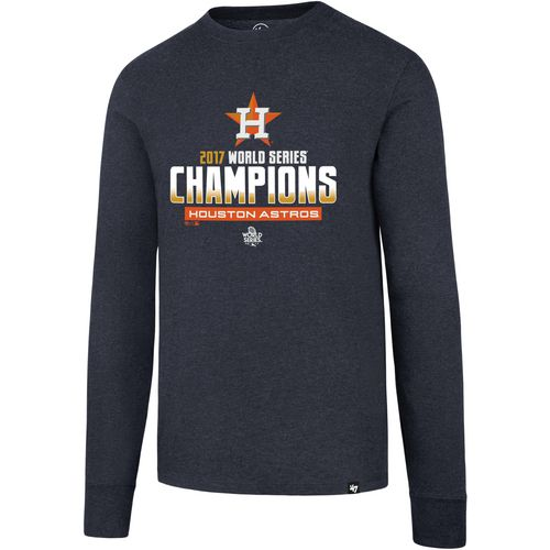 '47 Men's Astros World Series Champions Club Long Sleeve T-Shirt