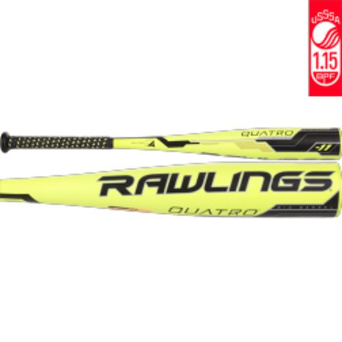 Display product reviews for Rawlings Kids' Quatro 2018 Coach Pitch Aluminum Alloy Baseball Bat -11