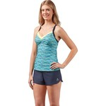 Gerry Women's Code Mesh Block Tankini Swim Top - view number 3
