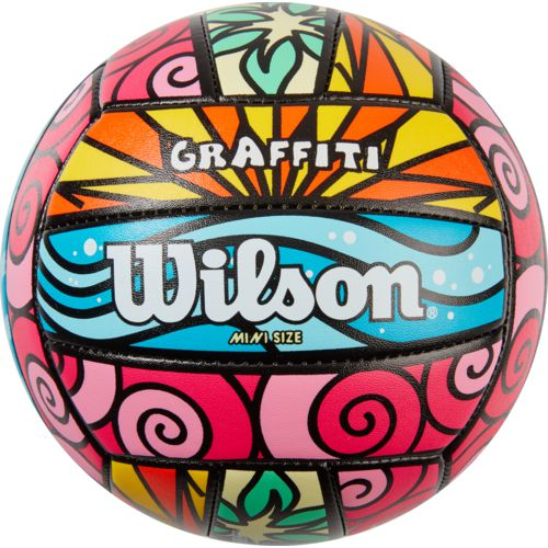 Wilson Graffiti Mini Volleyball