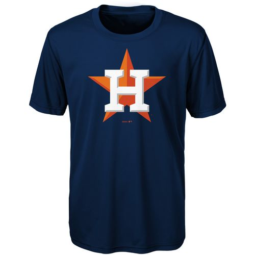Display product reviews for MLB Boys' Houston Astros Primary Logo T-shirt