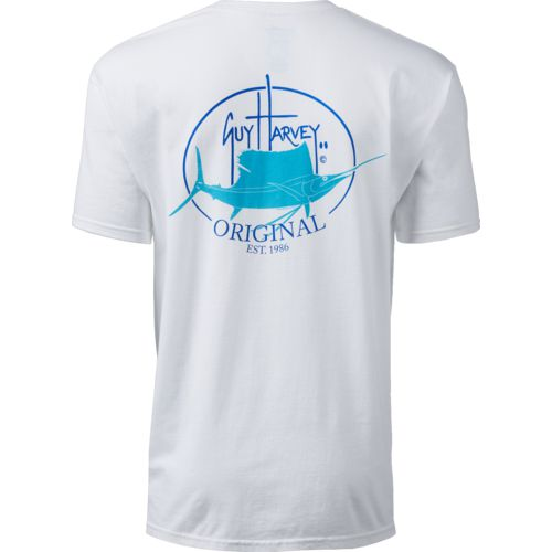 Guy Harvey Men's Original Fin Pocket T-shirt