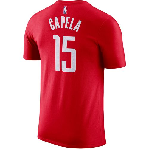 Nike Men's Houston Rockets Clint Capela 15 T-shirt - view number ...