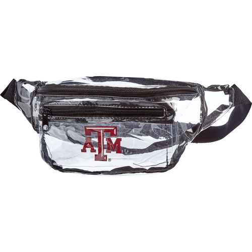 Forever Collectibles Texas A&M University Clear Fanny Pack