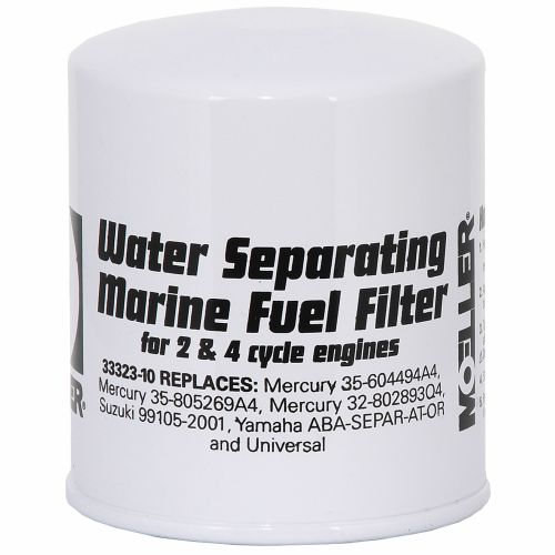 Display product reviews for Moeller Marine Mercury/Universal Water Separating Fuel Filter