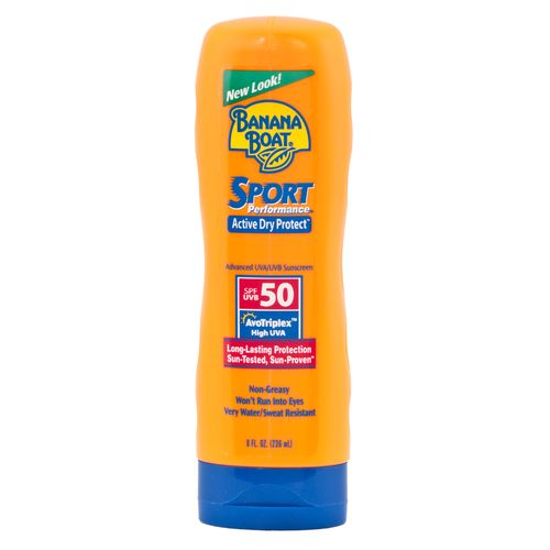 Display product reviews for Banana Boat® 8 oz. Sport Performance SPF 50 Sunscreen Lotion