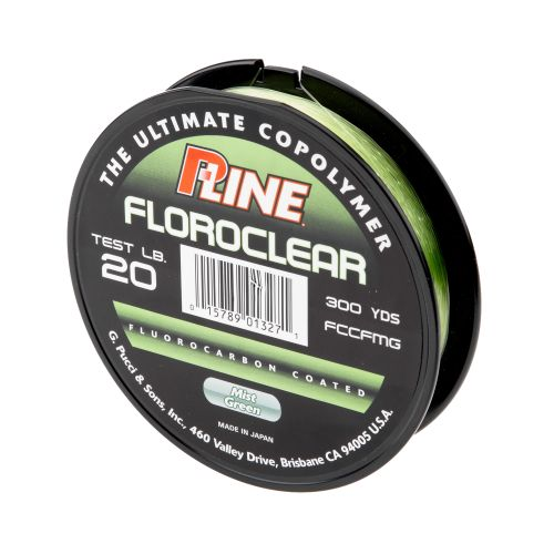 P line floroclear 20 lb 300 yards fluorocarbon fishing for Pline fishing line
