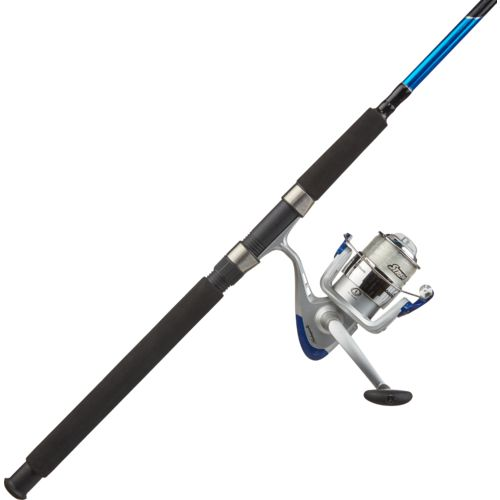 Display product reviews for Shakespeare® Catch More Fish 7' Saltwater Surf/Pier Spinning Fishing Kit