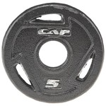 CAP Barbell 5 lb. Olympic Grip Plate - view number 1