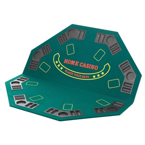 Superior Folding Poker Tabletop with Carry Case