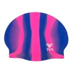 TYR Adults' Multi Silicone Swim Cap